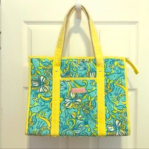 Lilly Pulitzer Tri Delta Sorority Tote NEW